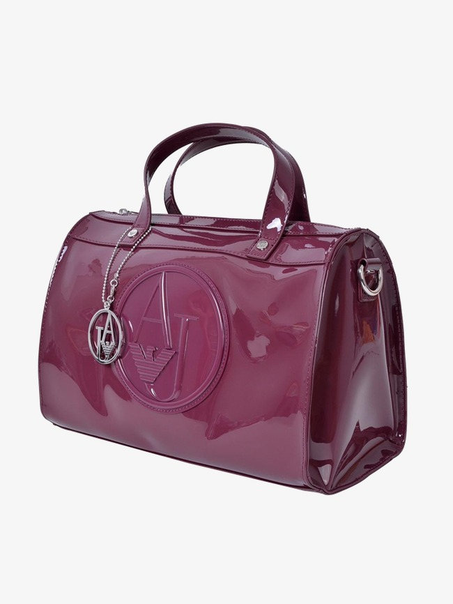 344a71eca2 Giorgio Armani Patent Leather Bag