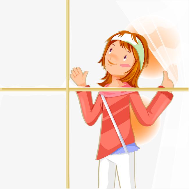 Open Window Clipart Clipart Suggest: Debout à Côté De Fenêtre Fille Fille De La Fenêtre