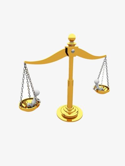 Bilancia D Oro La Giustizia Golden La Creatività File Png E Psd Per