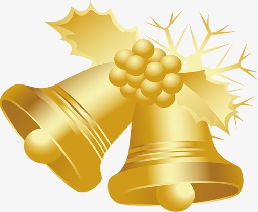 loceng emas natal poster golden loceng krismas imej png dan clipart