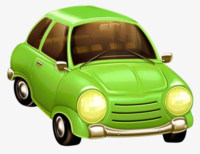 une voiture verte vert la voiture dessin image png pour le