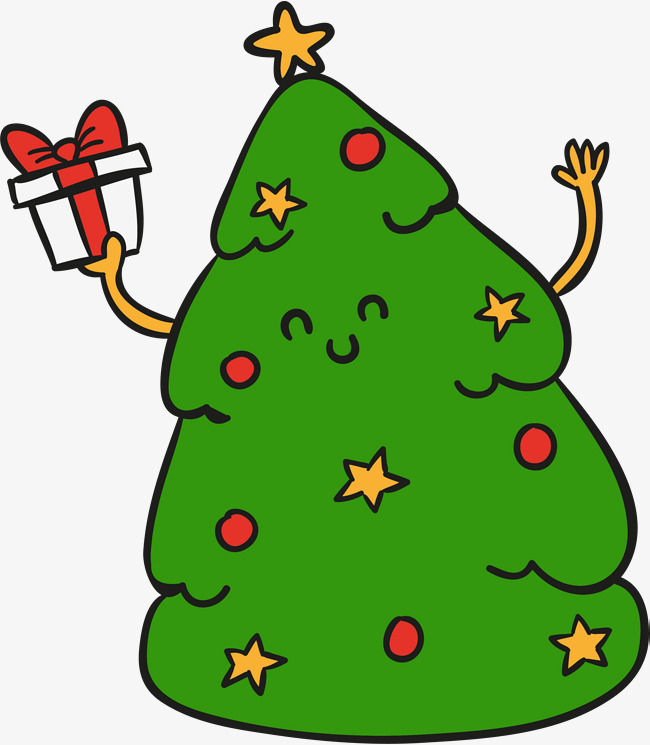 Vert sapin de no l de dessins anim s vert dessin arbre de no l image png pour le t l chargement - Dessin sapin vert ...