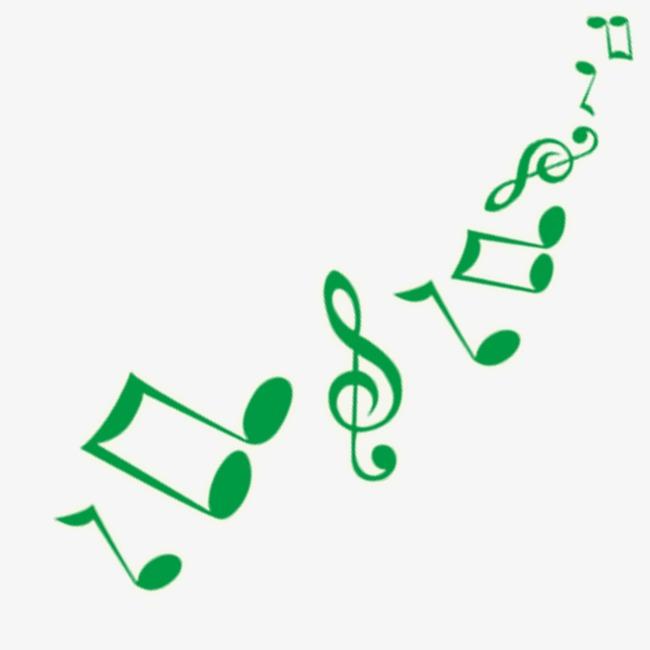 note verte la musique notes dessin image png pour le t u00e9l u00e9chargement libre