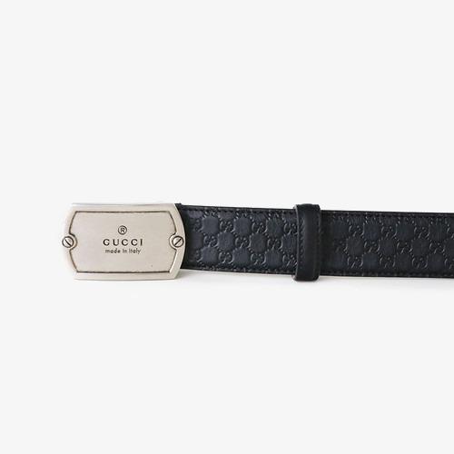 Gucci Mens Cinto De Couro Clássico Gravado Gucci Belt Mens Cinto ... c1073e8a48c