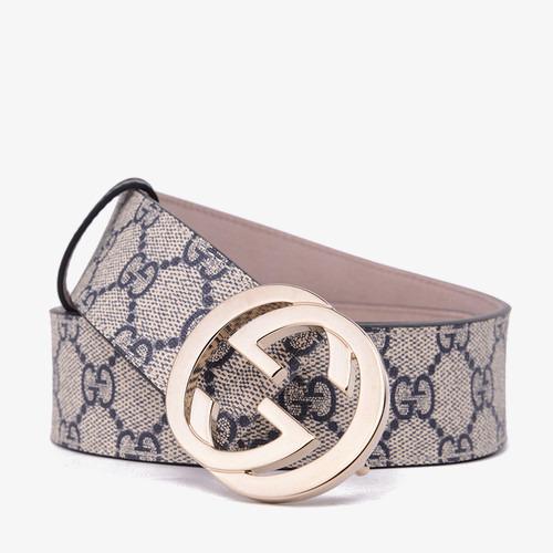 97738ac820c Gucci Neutral Leather Belt
