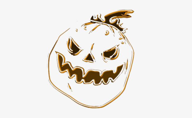 Calabaza De Halloween Halloween Calabaza Blanco Y Negro Archivo PNG ...
