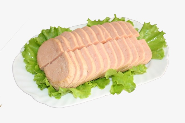 ham slice ham sausage photography png image and clipart for free