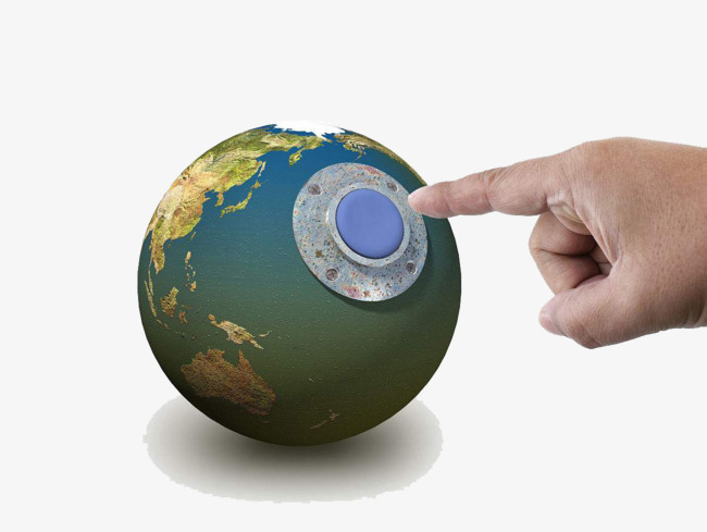 Clipart Bombe hand bomb version of the earth, bomb clipart, earth clipart, push