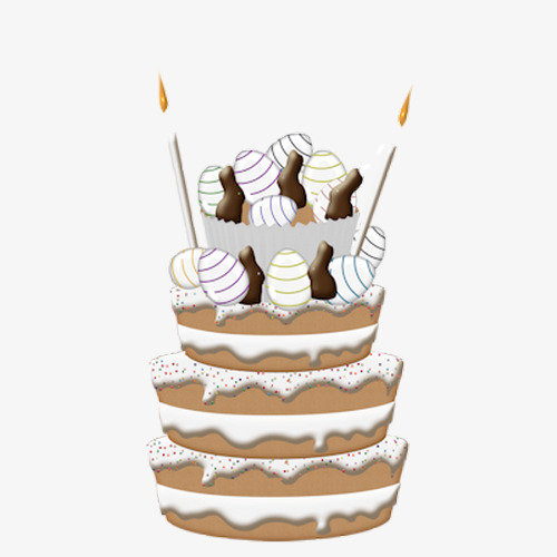 Hand Drawn Birthday Cake Birthday Clipart Cake Clipart Cartoon