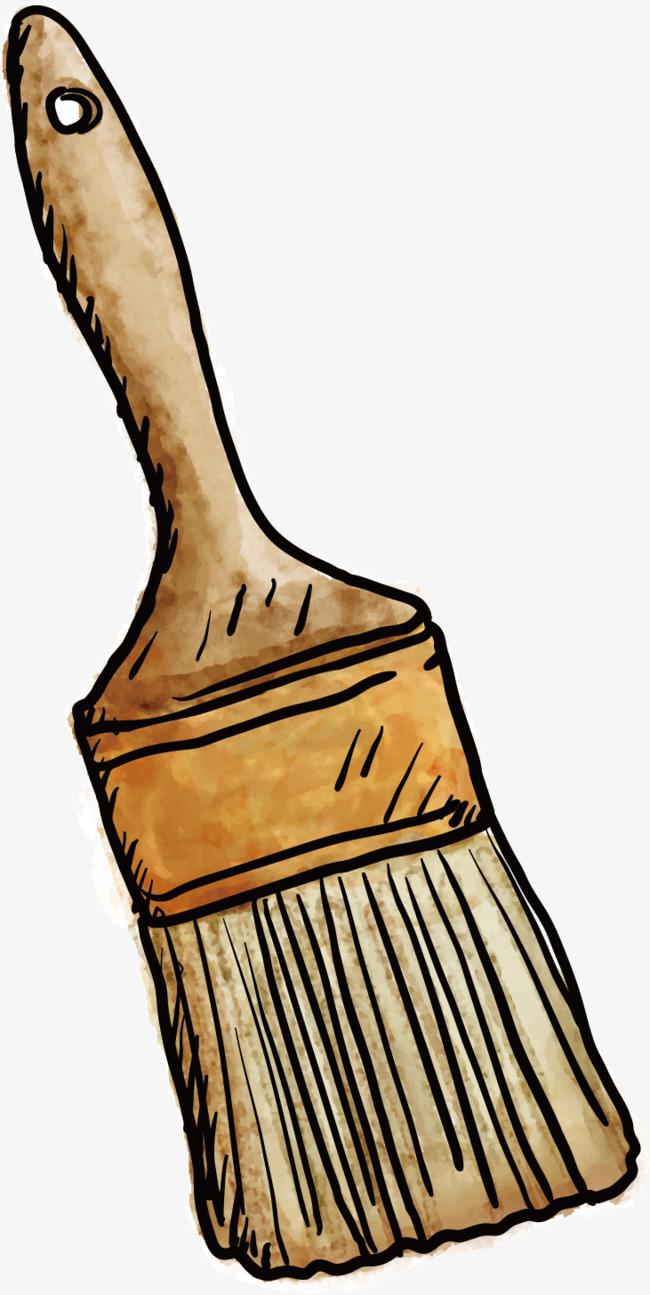 無料ダウンロードのための手描きブラシ 絵画のツール ブラシ 黄色 png画像