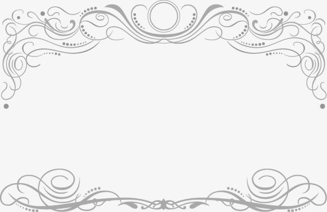Dentelle Dessin cadre européen de dessin à l atmosphère de la dentelle dessin peint