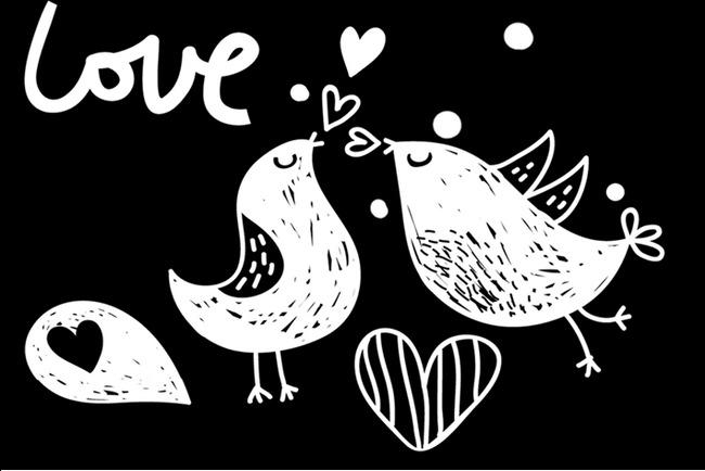 hand painted cartoon love birds decorative pattern romantic hand Microsoft Word Background Templates hand painted cartoon love birds decorative pattern romantic hand painted valentine small