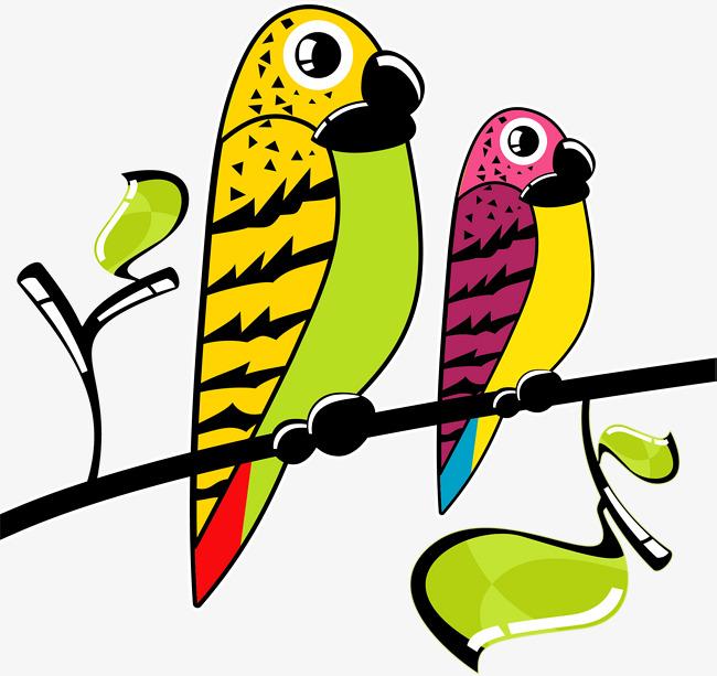 Perroquet dessin perroquet perruche peinte dessin png et vecteur pour t l chargement gratuit - Dessin perruche ...