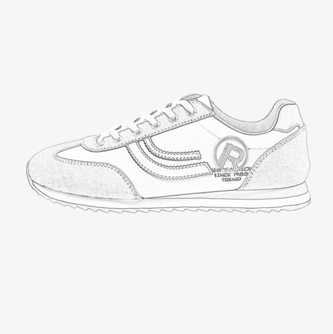 Hand Painted Casual Shoes Shoes Clipart Sports Shoes Hand Painted