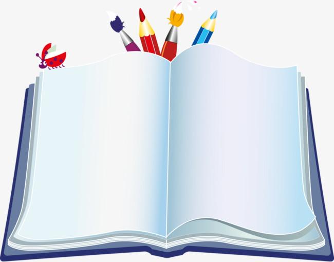 Pintado A Mano De Color Pencil Libros De Dibujos Animados La Pintura ...