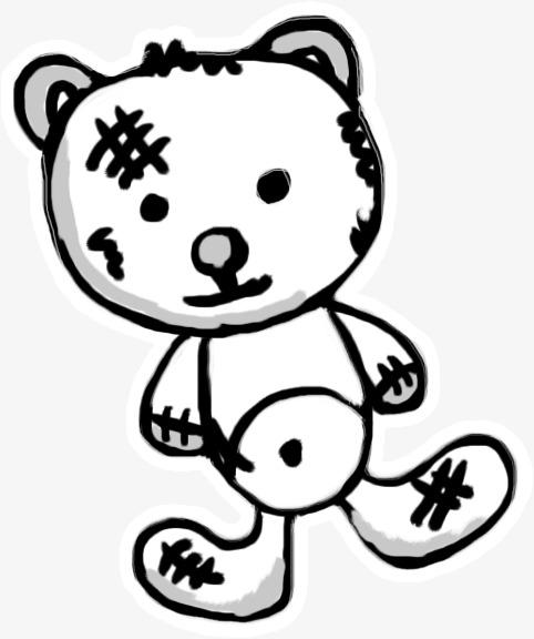 Tangan Dicat Patung Tangan Dicat Boneka Boneka Beruang Imej Png Dan