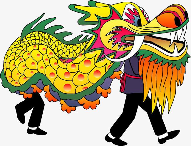 Danza Del Dragón Pintado A Mano Feria Del Templo De La Danza Del ...
