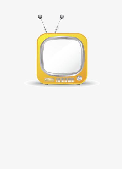 Handbemalte Tv Vector Cartoon Die Linien Png Bild Und Clipart Zum