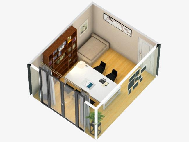 Reliure de bureau sa maison chambre bureau de la pièce rigide