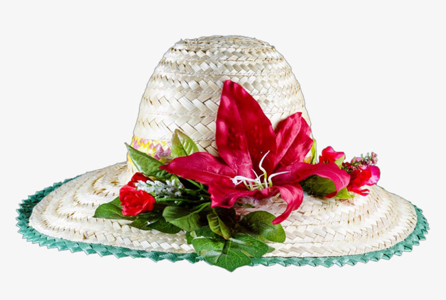 Hat With Flowers 9b00ab629e0