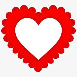 Corazón Corazón En Forma De Corazon En Forma De Corazon Rojo Imagen