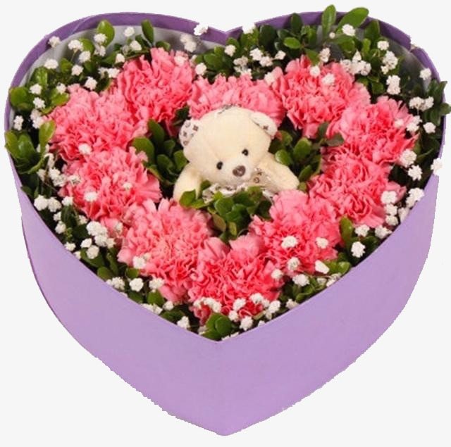 Bouquet De Mariage En Forme De Coeur Bouquet De Fleurs Rouge Image