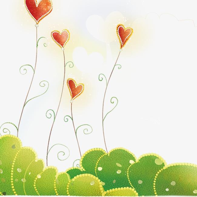 coeur de fleur en forme de coeur des l ments de dessin le. Black Bedroom Furniture Sets. Home Design Ideas