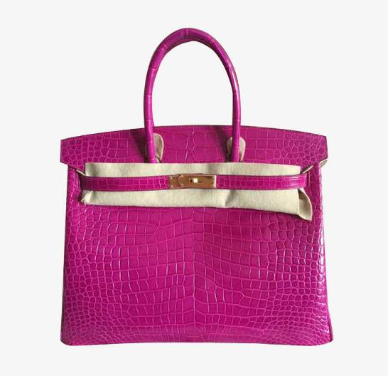 0b40ee4e53a hermes hermes birkin platinum package 35 fantasy purple buckle crocodile  skin handbag