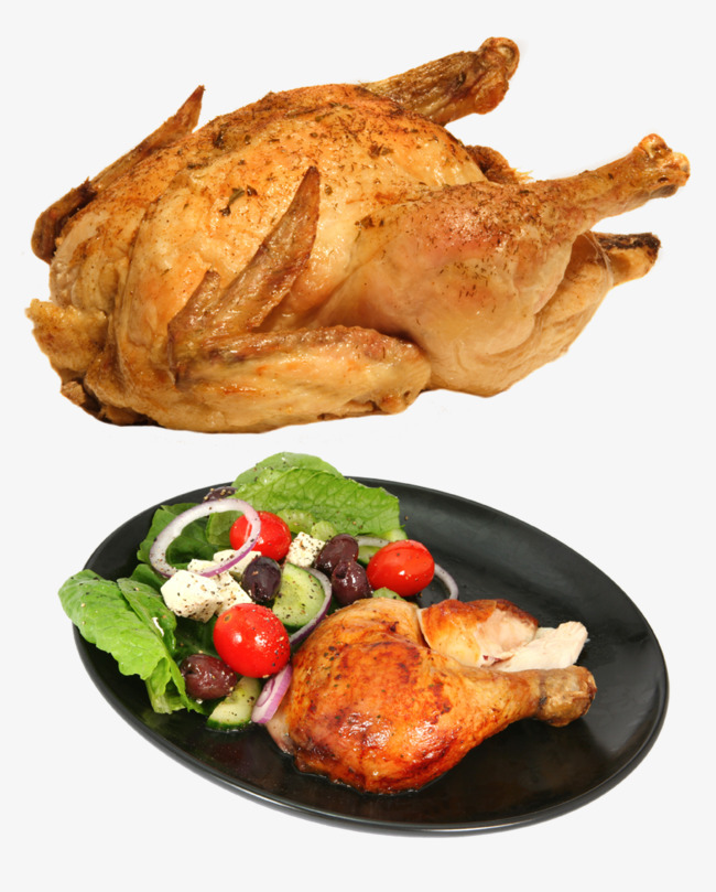 Курица в меду салат цезарь