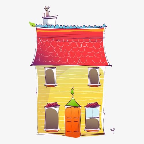 Dessin maison en couleur   sorbon
