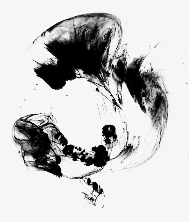 Ink Imprint Classical Brush Ink Pen Water Png Image And Clipart