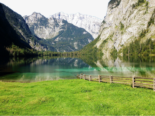 King Beautiful German Lake Famous Scenery Tourist Attractions