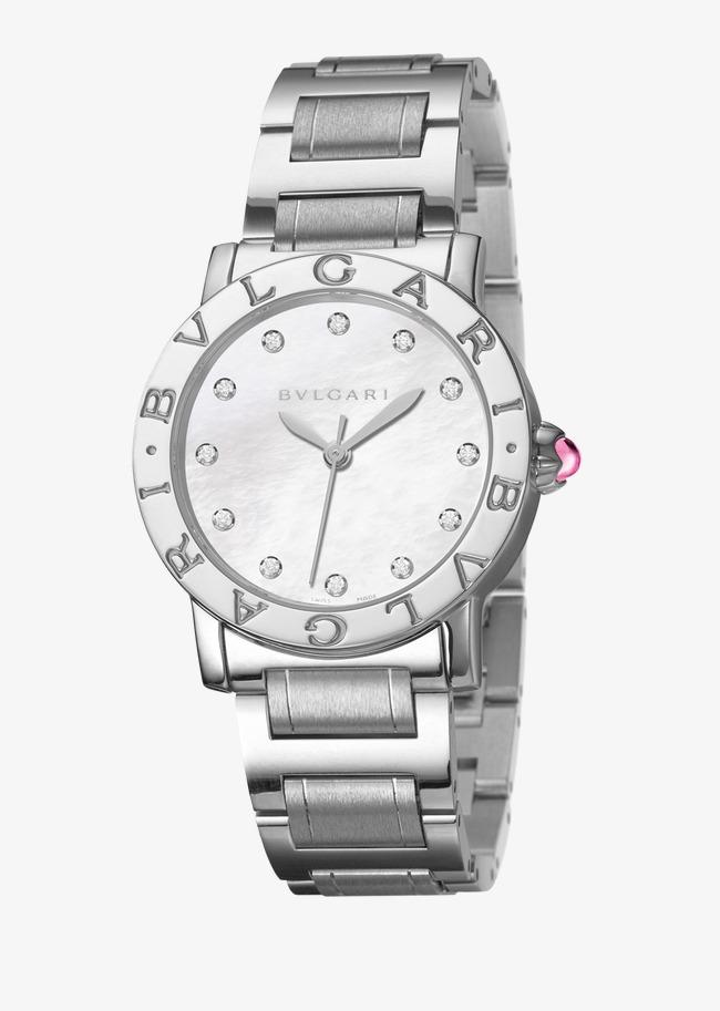 L argent de la femme montre Bulgari montre Cartier Gratuit PNG et Clipart b56d925f455