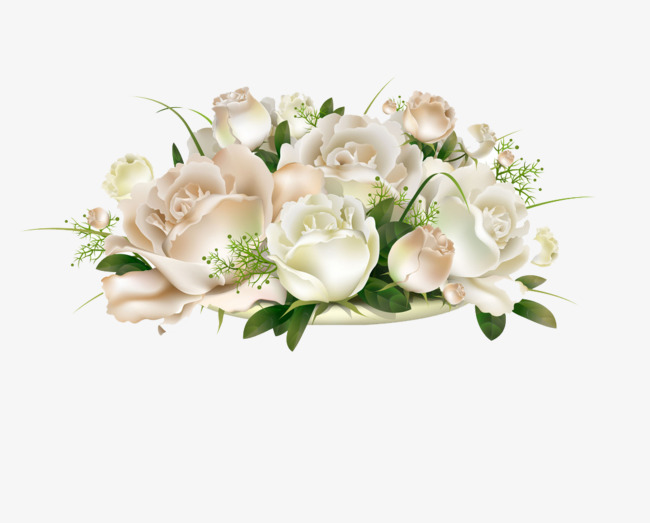 Light Colored Flowers Pink Fresh Elegant Png Image And Clipart