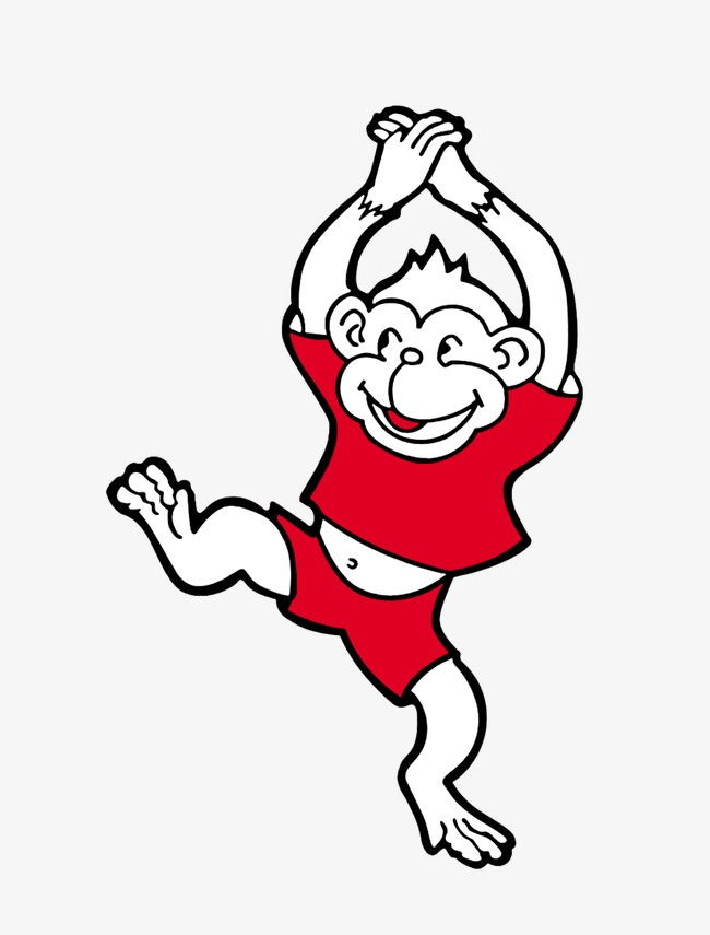 Little Monkey Dance Monkey Clipart Dance Clipart And Psd File