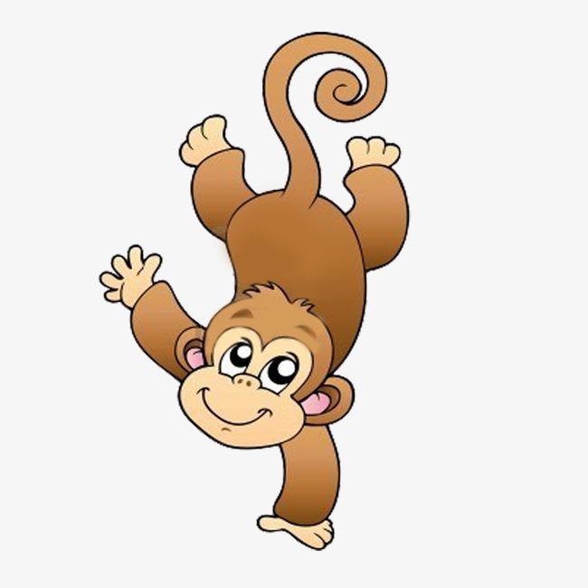 Le petit singe le petit singe animal dessin image png pour le t l chargement libre - Coloriage petit singe ...