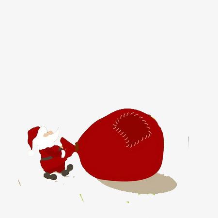 Petit Papa Noël Le Père Noël Dessin Illustration Image Png Pour Le