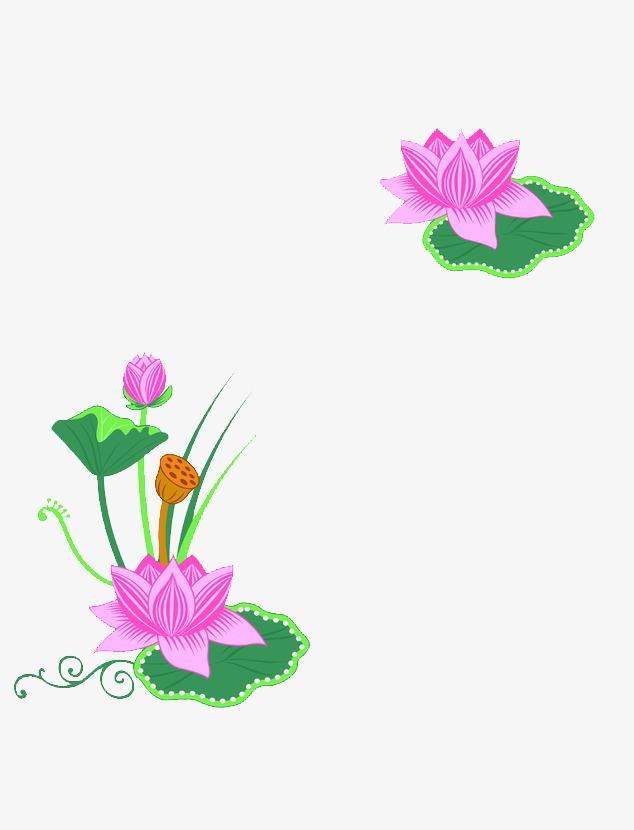 Lotus Printing Frame Frame Clipart Lotus Clipart Lotus Png