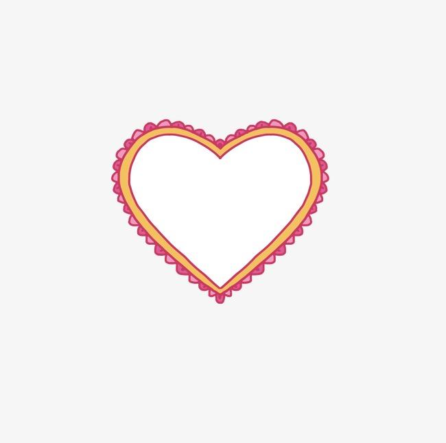 Love Border, Tanabata Border, Love Frame, Valentine Border PNG and ...