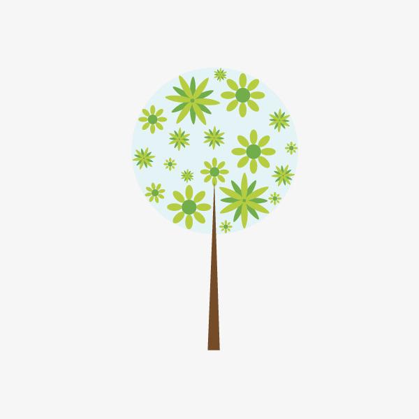 Hermosas Flores De árboles Bonito árbol Los árboles Dibujos De
