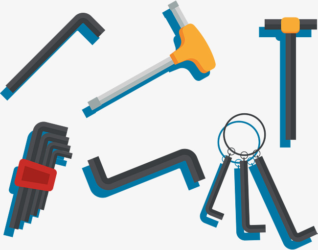 Maintenance Tools Tools Vector Cartoon Colour Png And Vector For