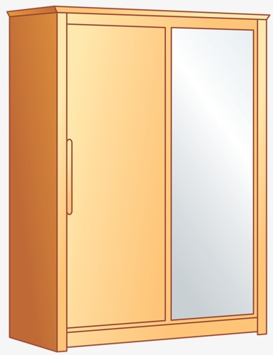 Mirror And Wardrobe Child Lockers Cabinet Furniture Png Image And