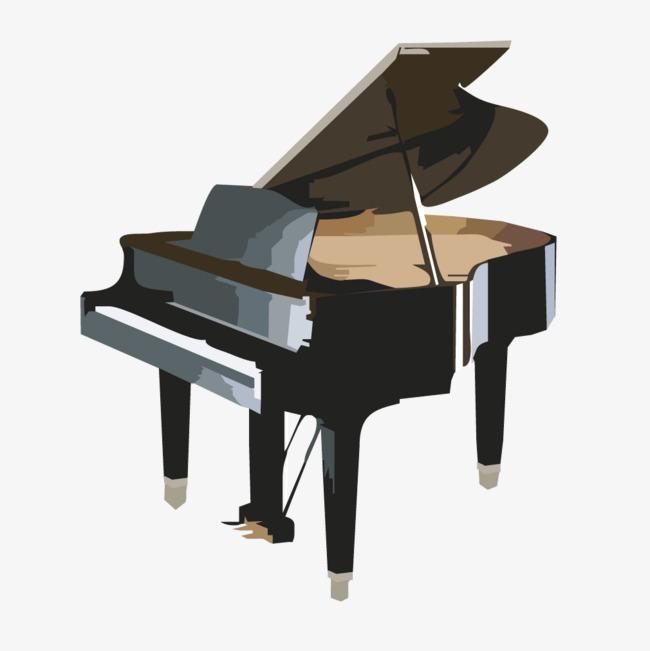 instrument de musique moderne de piano noir moderne noir
