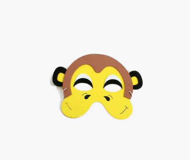 Monyet Topeng Anak Topeng Mainan Comel Imej Png Dan Clipart Untuk