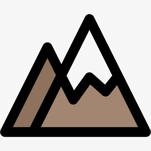montagnes dessin montagnes montagne fichier png et psd