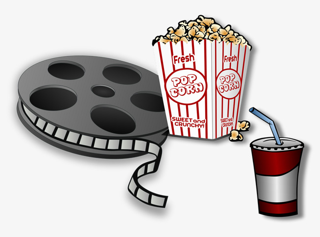 Films et du pop corn ruban adh sif film pop corn image png - Clipart cinema gratuit ...
