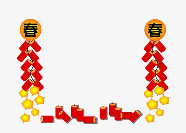 new year firecrackers border new clipart firecracker chinese new year png image and