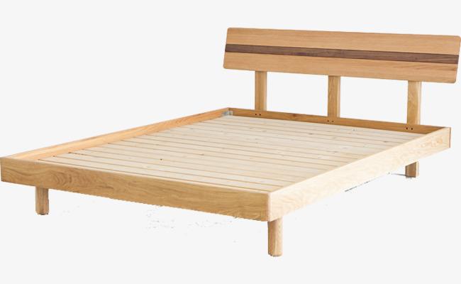 Lit De Bois Nordique Lit De Bois Nordique Style Japonais Ikea Simple