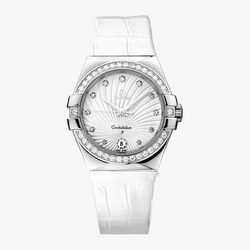 8889ab46c3a Omega Constellation Double Eagle Aço Quartz Watch O Produto A Marca ...