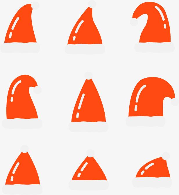 628be1d8d3bc2 Naranja Rojo Sombrero De Navidad Navidad Sombrero Gorros De Navidad ...